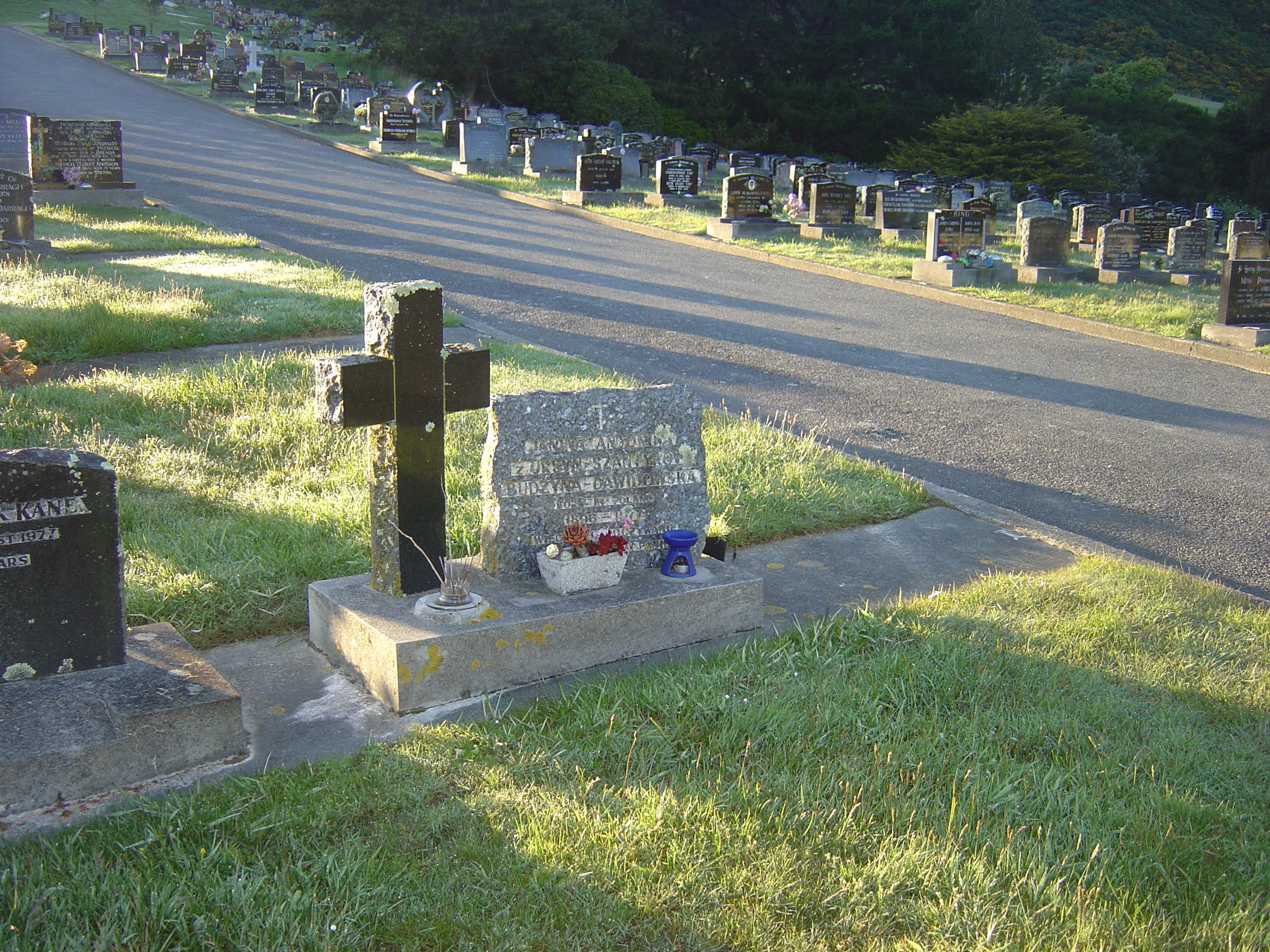 Headstone restoration- before