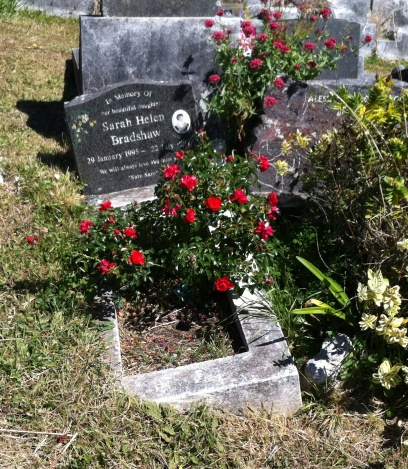 Grave restoration - before