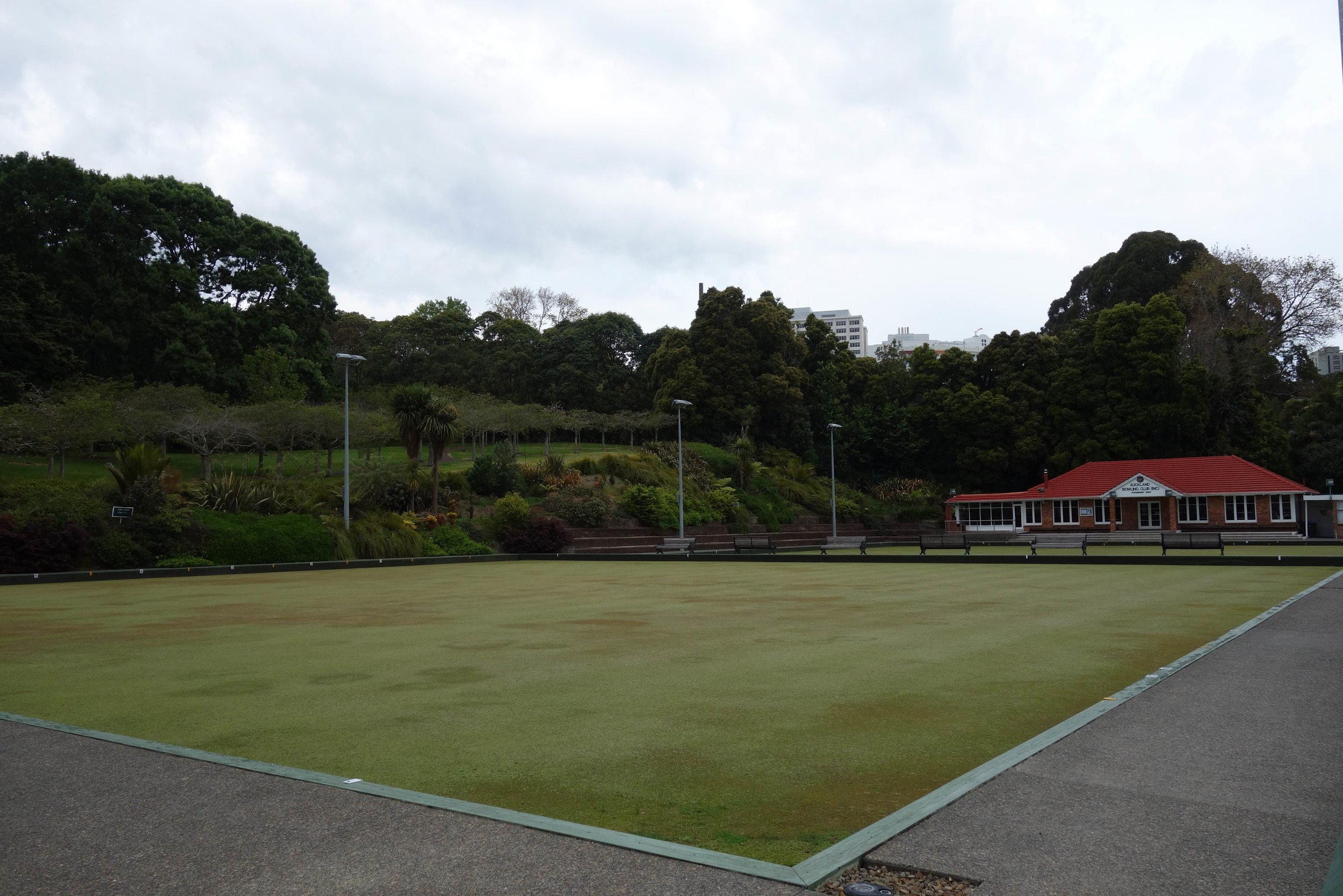 Auckland Domain's Bowling Greens