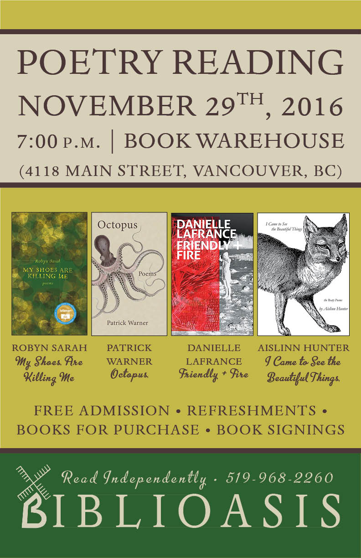 Warner, Sarah, Hunter, LaFrance @ Book Warehouse Vancouver.jpg