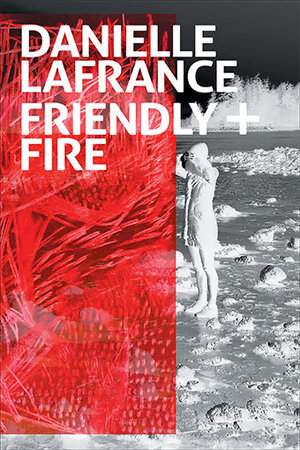 "Comprising experimental poetry and prose,  Friendly + Fire  ( Talonbooks  2016) interrogates the male subjective experience of war and the gendered implications of camaraderie or ""brotherhood"" while aligning the seriousness of a war target with the frivolities of gossip: ""MILITARY LINGO SUBLIMATES SMACK TALK FROM HERE ON IN.""   Review"