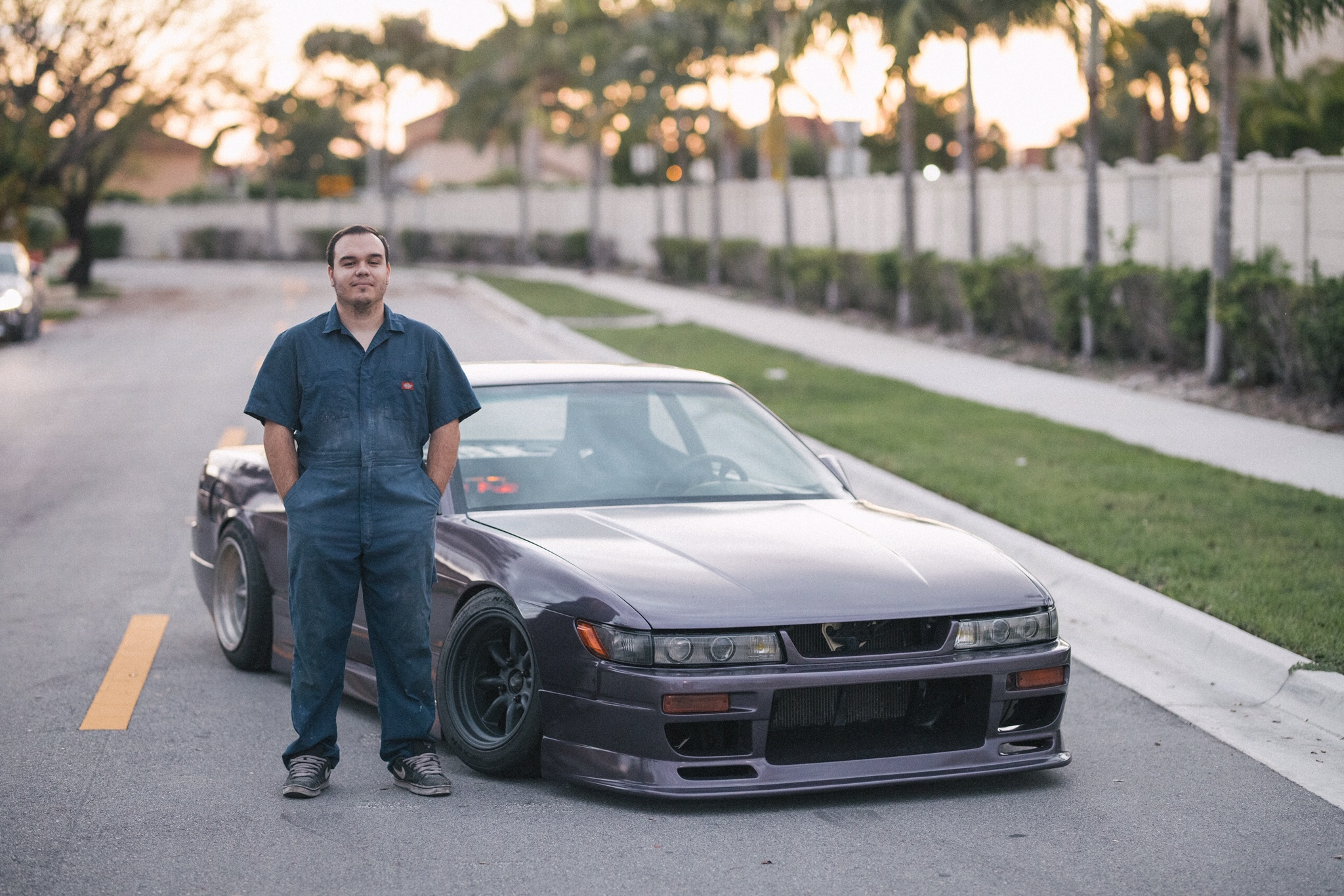 Mark Baptista - My name is Mark Baptista and I am hopelessly obsessed with the s chassis platform.I am a mechanical engineer by trade, having specialized in motorsports and internal combustion engines. I have my purple 1993 240sx coupe. I have disassembled and reassembled this car more times that I care to count, but I never grow tired of tinkering with it. It will be forever evolving.
