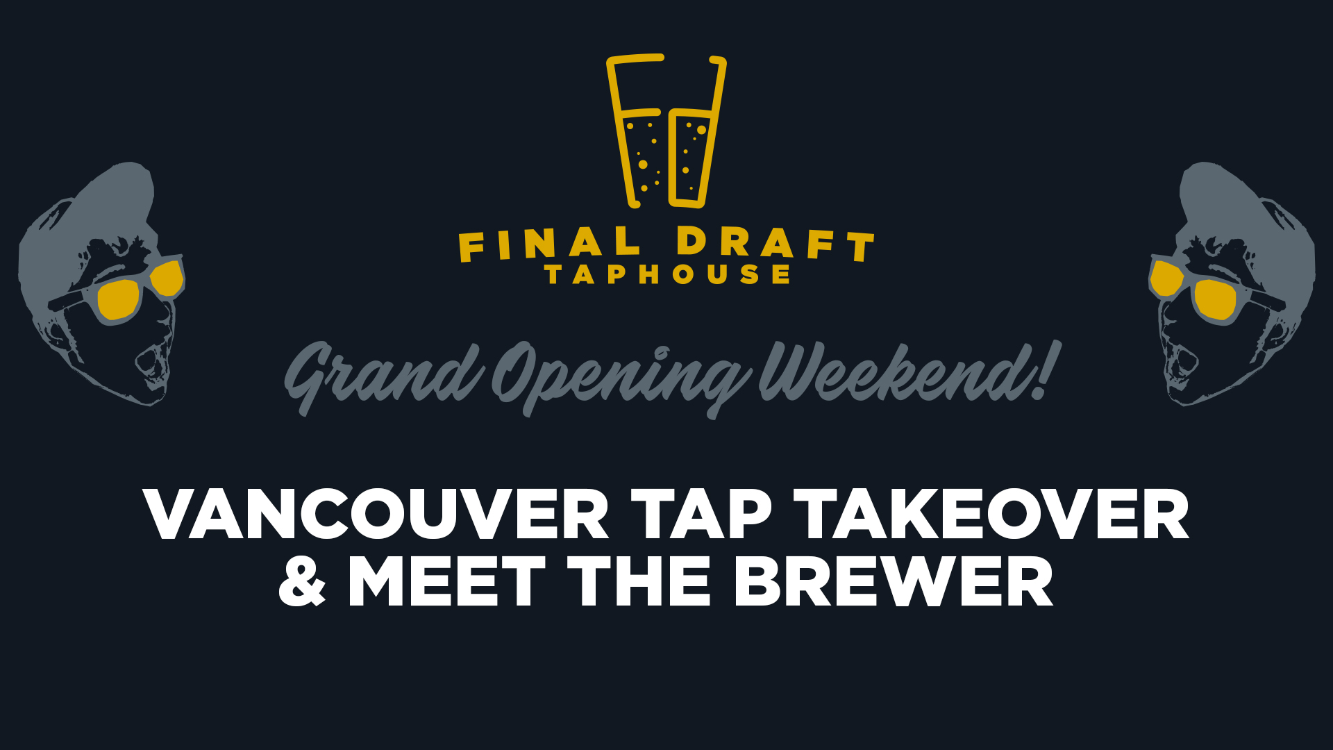 Friday, August 4 from 5 to 7 p.m. - 11 Vancouver breweries will be on tap and the brewers will be at the taphouse meeting and greeting and giving away fun swag!