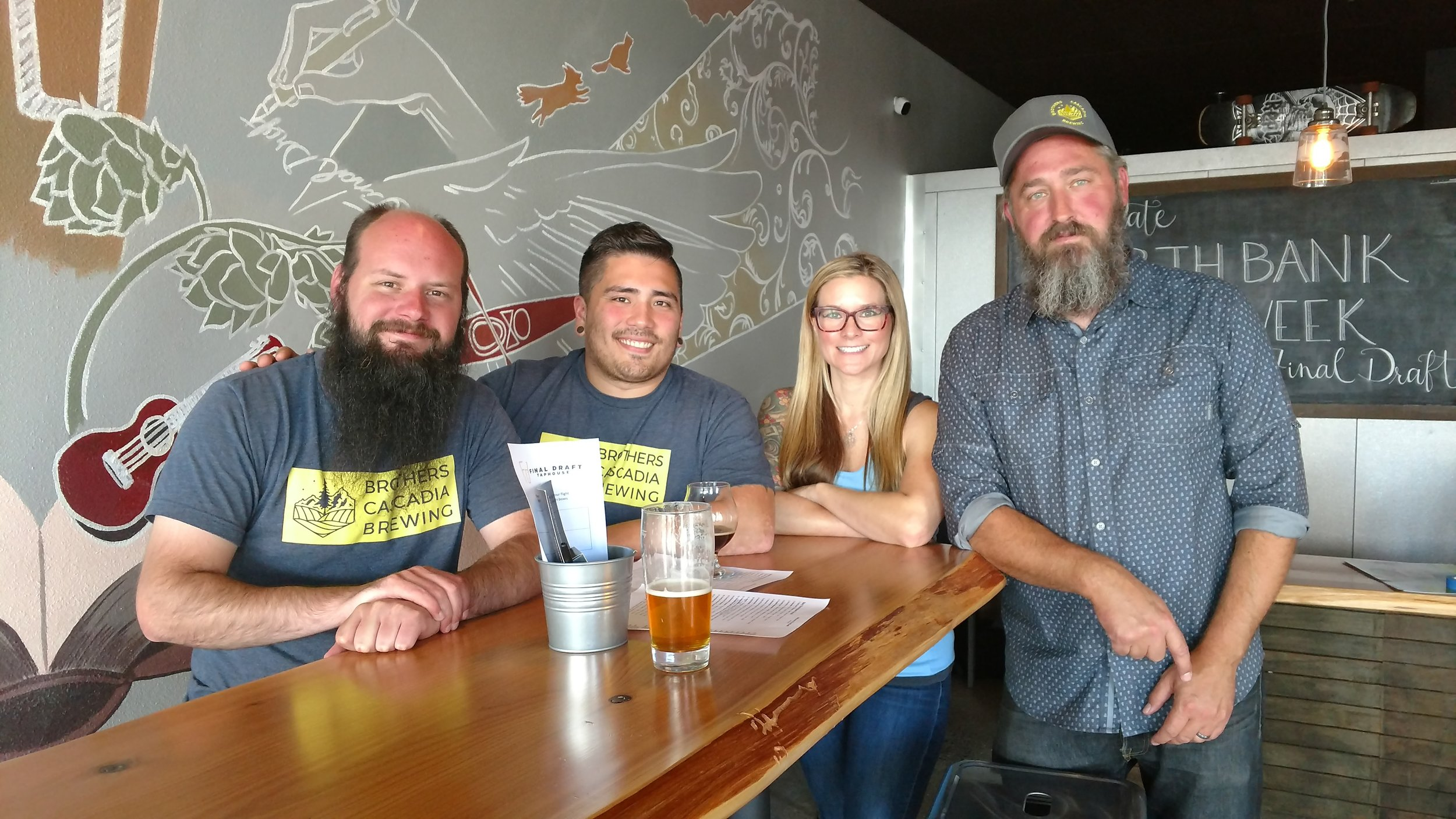 Brewers' Stories - Brothers Cascadia Brewers