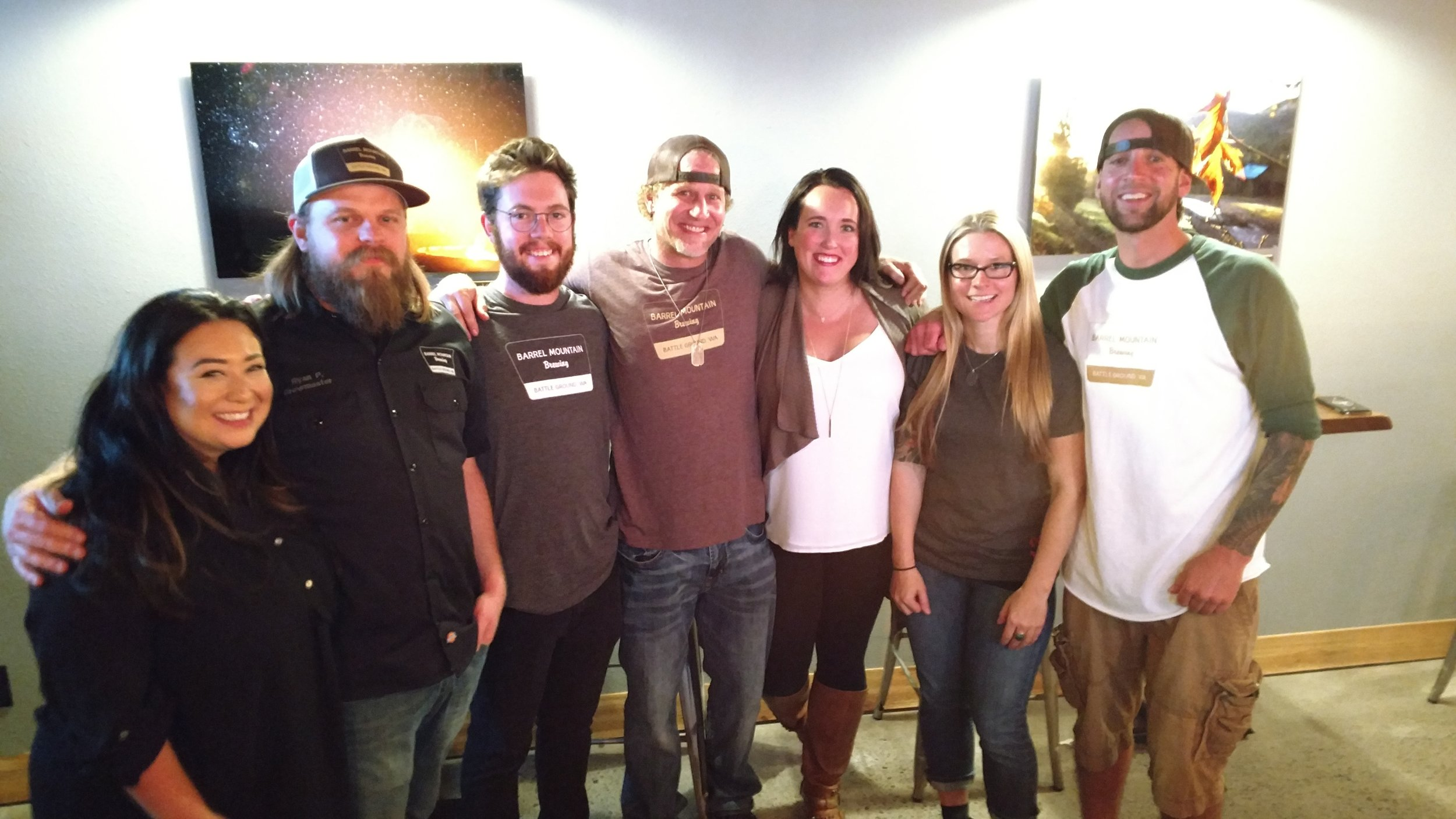 Brewers' Stories - Barrel Mountain Brewing Crew