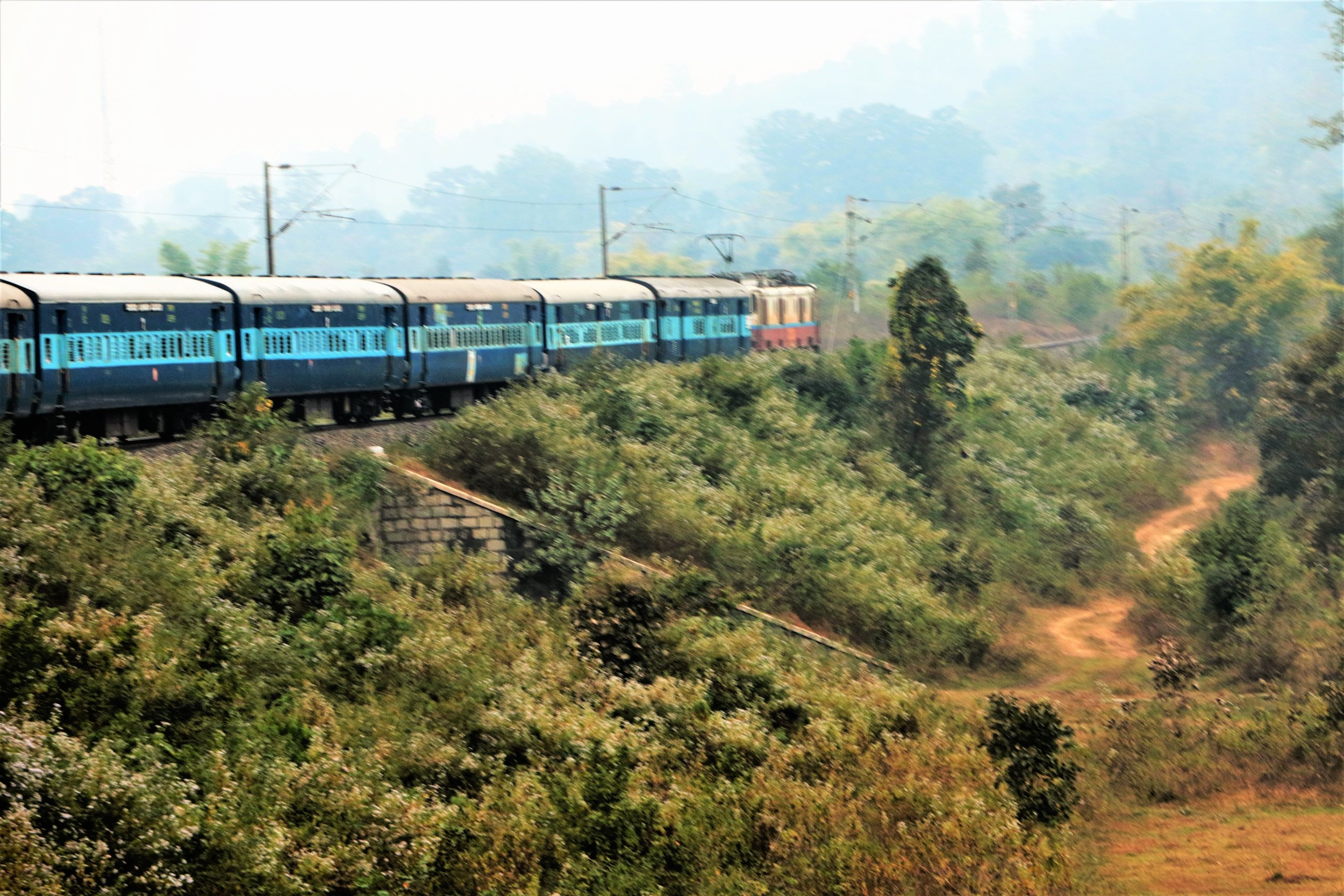 On the way to Vizag, which is half-way home  Photo: Jagadish Swamy