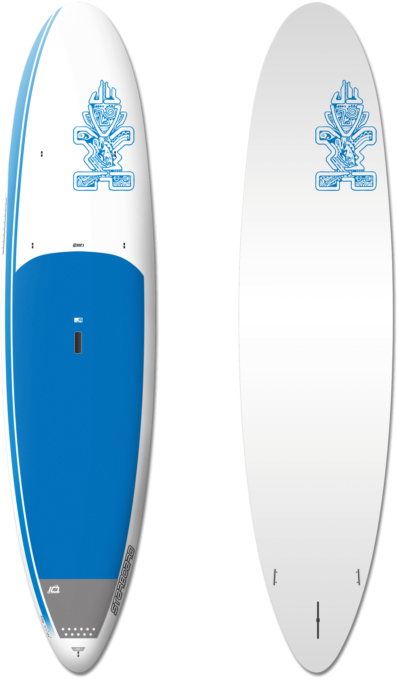 "Starboard Atlas Extra 12' x 33""  ""An ultra-stable ride with comfortable balance and fun for cruising."""