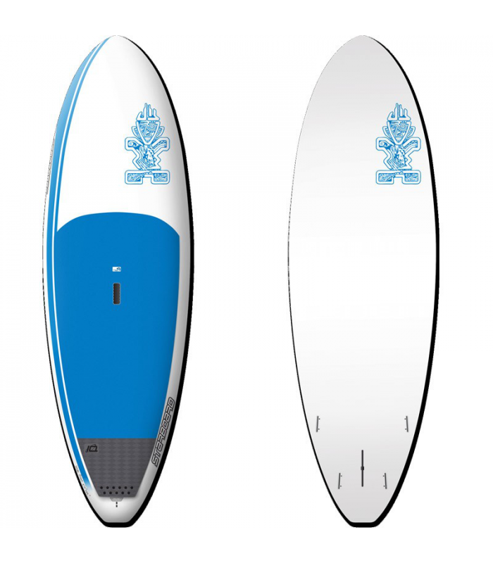 "Starboard Widepoint 8'10"" x 32""  ""Exceptional performance in all conditions, especially SUP surfing."""