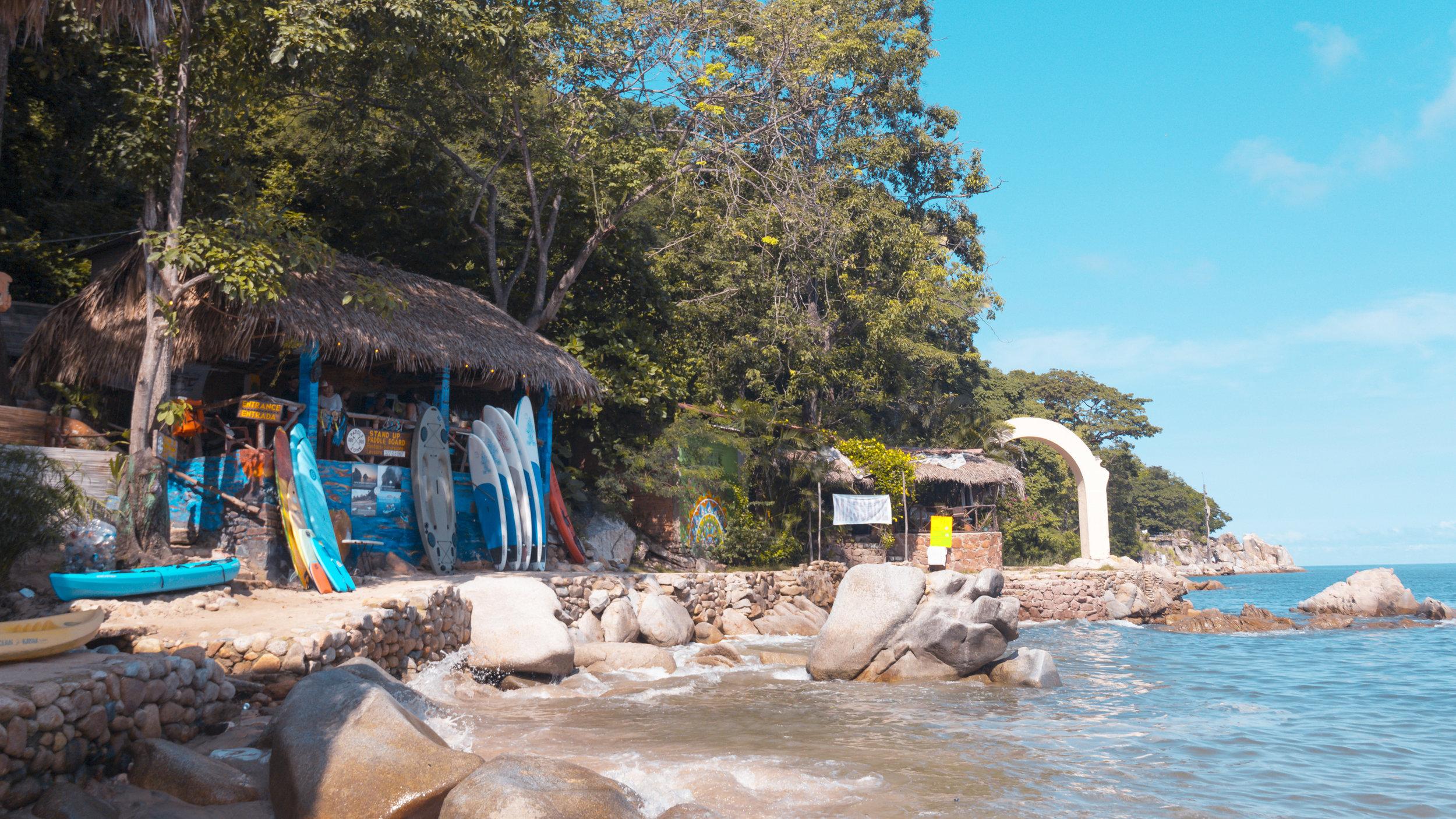 Paddle Zone Mismaloya Beach Puerto Vallarta