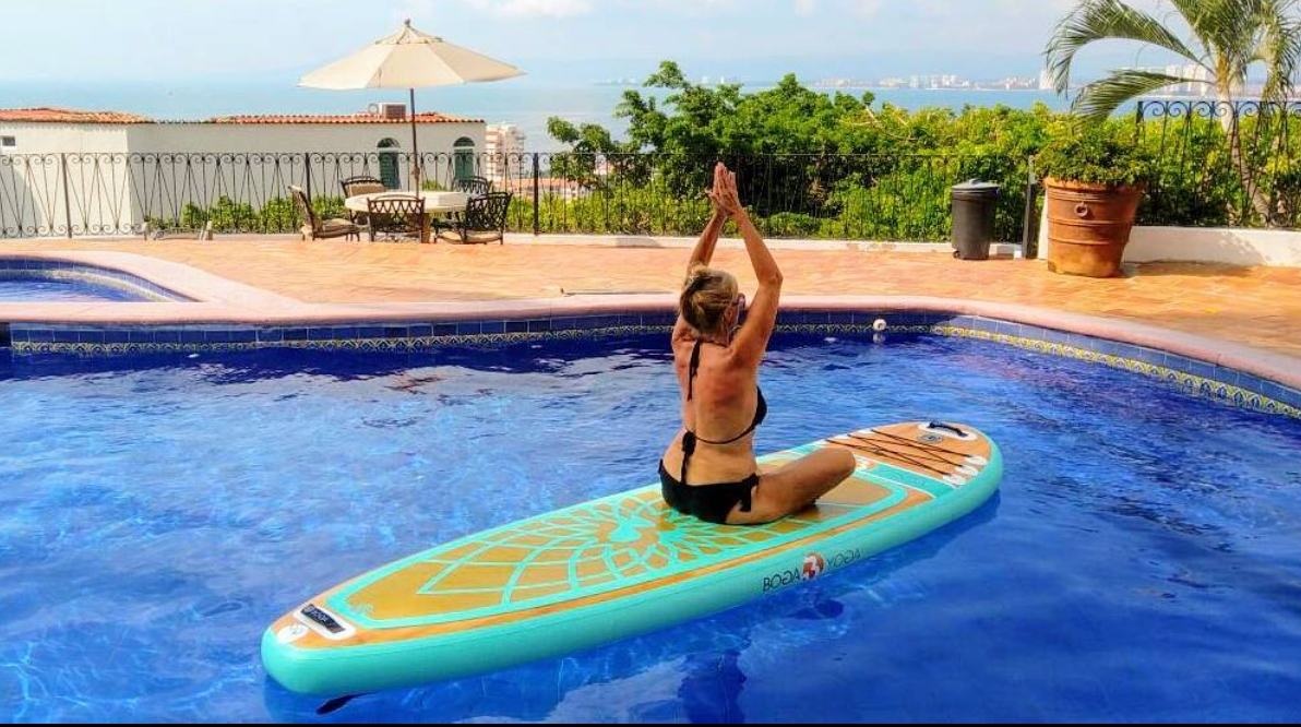 sup yoga private puerto vallarta mismaloya stand up paddle board