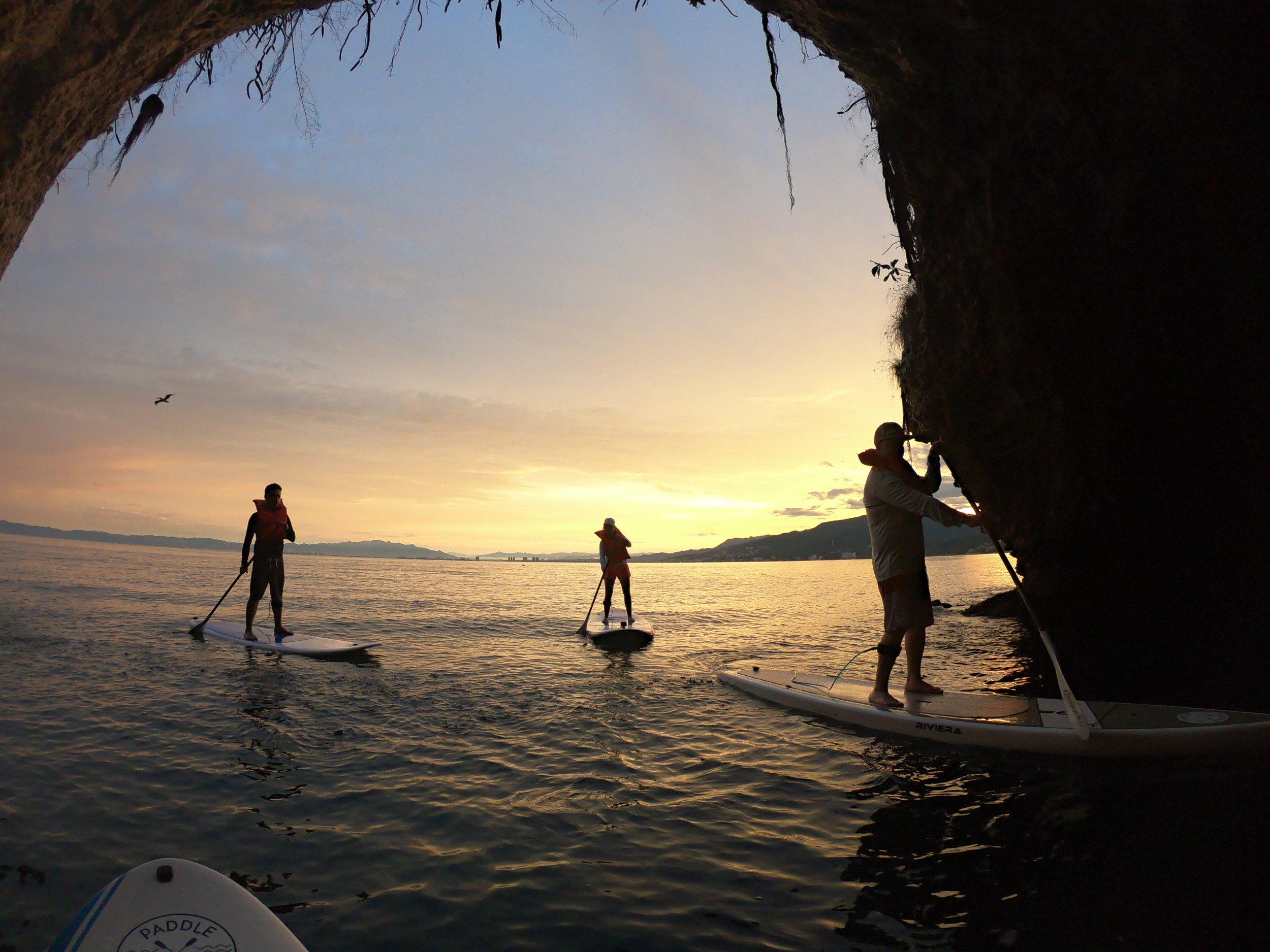paddle sunrise los arcos puerto vallarta