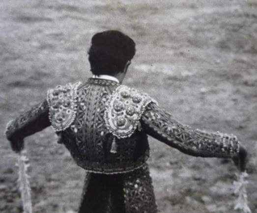 Paco in full regalia, performing in Zacatecas, c. 1986.