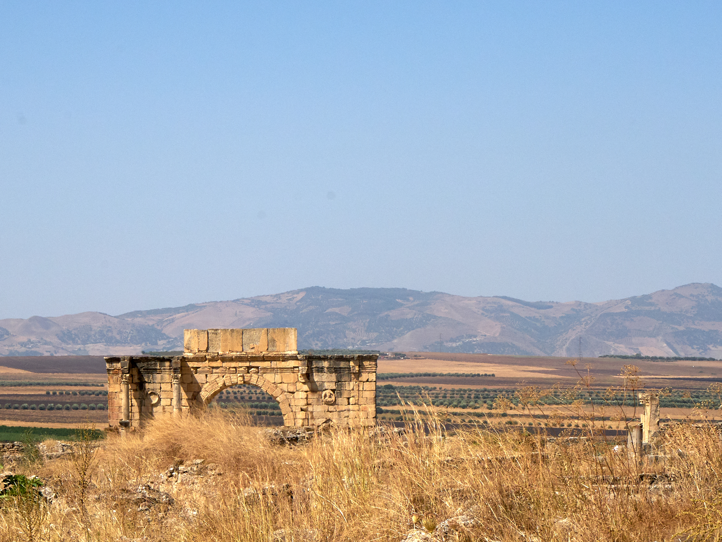 With its beautifully preserved arches, palaces, and basilicas, ancient Volubilis makes for a fascinating field trip.