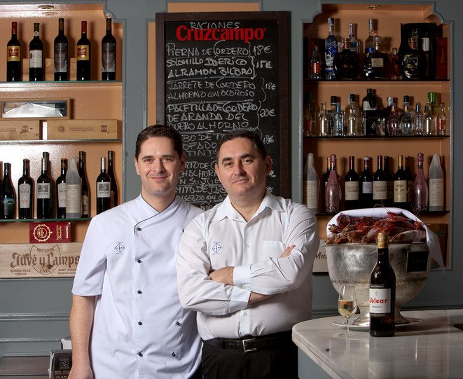 Sixty years after their father first set up shop in La Macarena, brothers Javier and Manuel Yebra are still serving playful, elevated tapas in the spirit of the ones he pioneered.