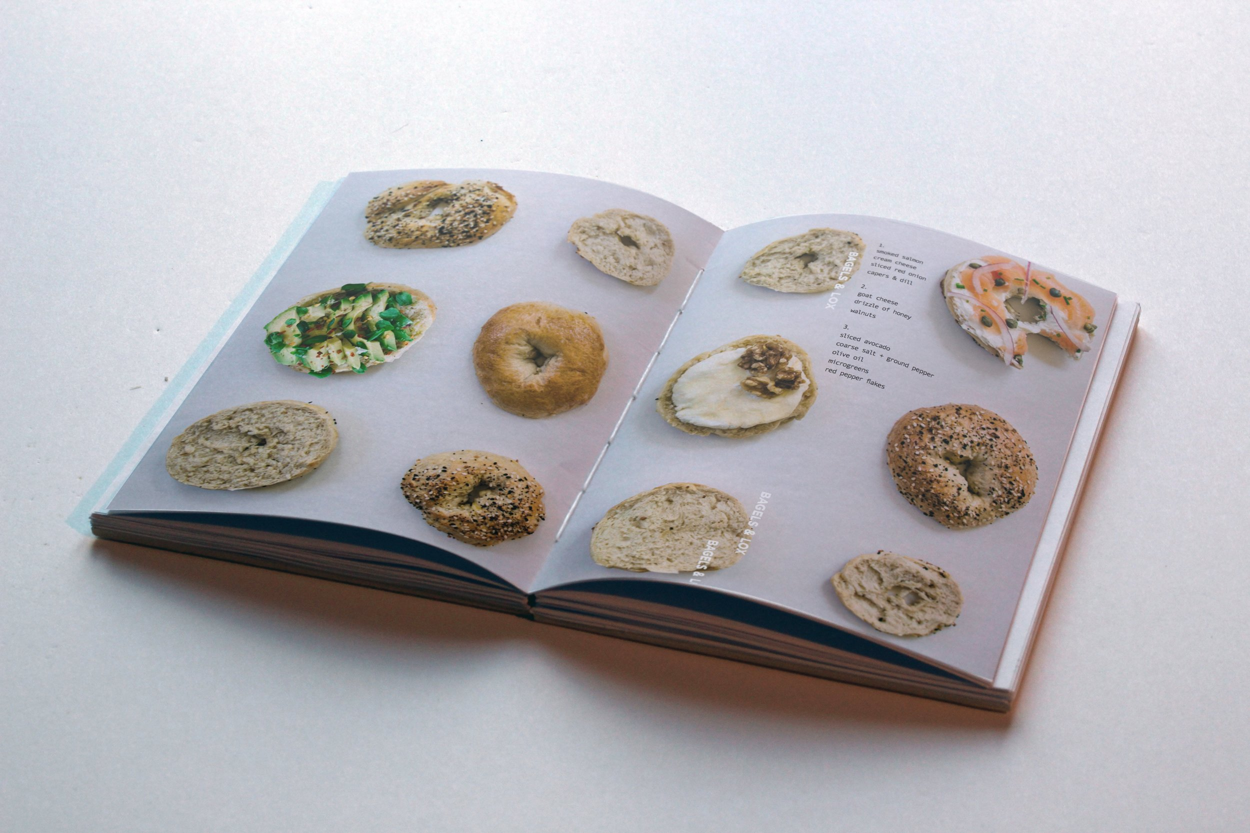 marked cookbook sustain bagels