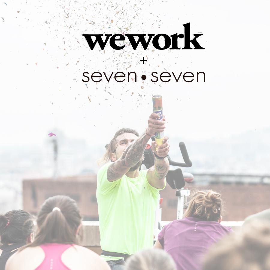 WE WORK + Seven Seven