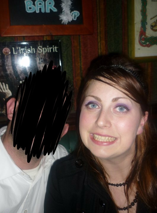 Me on one of the many nights I was binge drinking in Europe.