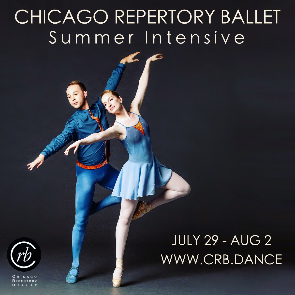 CRB's Summer Intensive is July 29th- August 2nd. There are still places avaliable for dancers between the ages of 13-19. - [More Information]