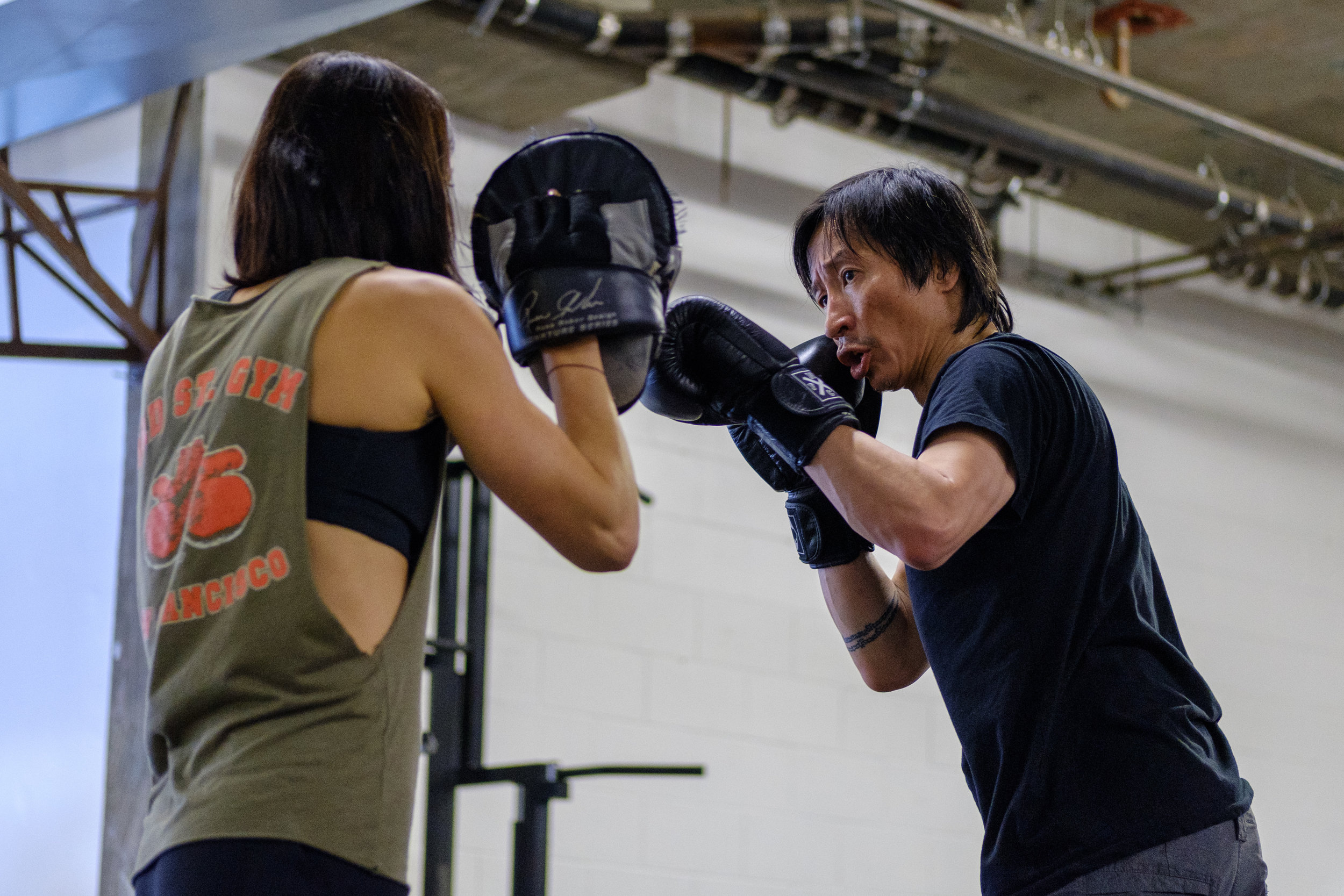 private boxing classes san francisco 3rd street boxing