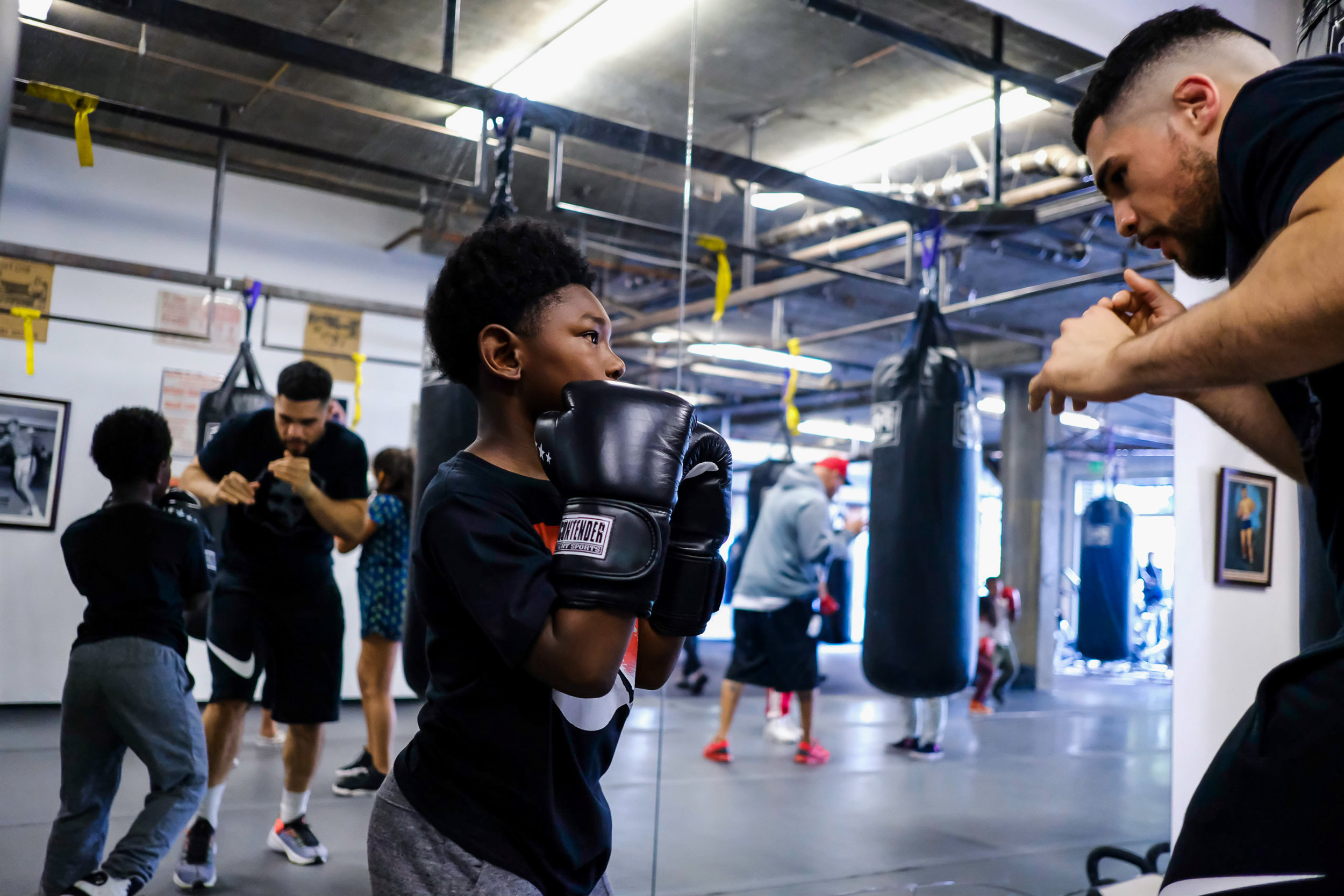 3rd street boxing kids classes
