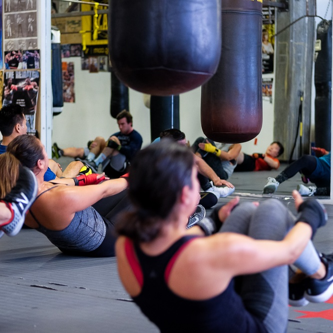 "Unlimited    gym use   !    Unlimited    boxing and strength & conditioning classes    (aka ""Class""-level classes)!    Plus:   + 50% off your first  Personal Training  session!  + 20% off  Personal Training  packages after that!  + 20% off  Academy  drop-ins if you want to check out those classes!  + $100 off  Bootcamp !"