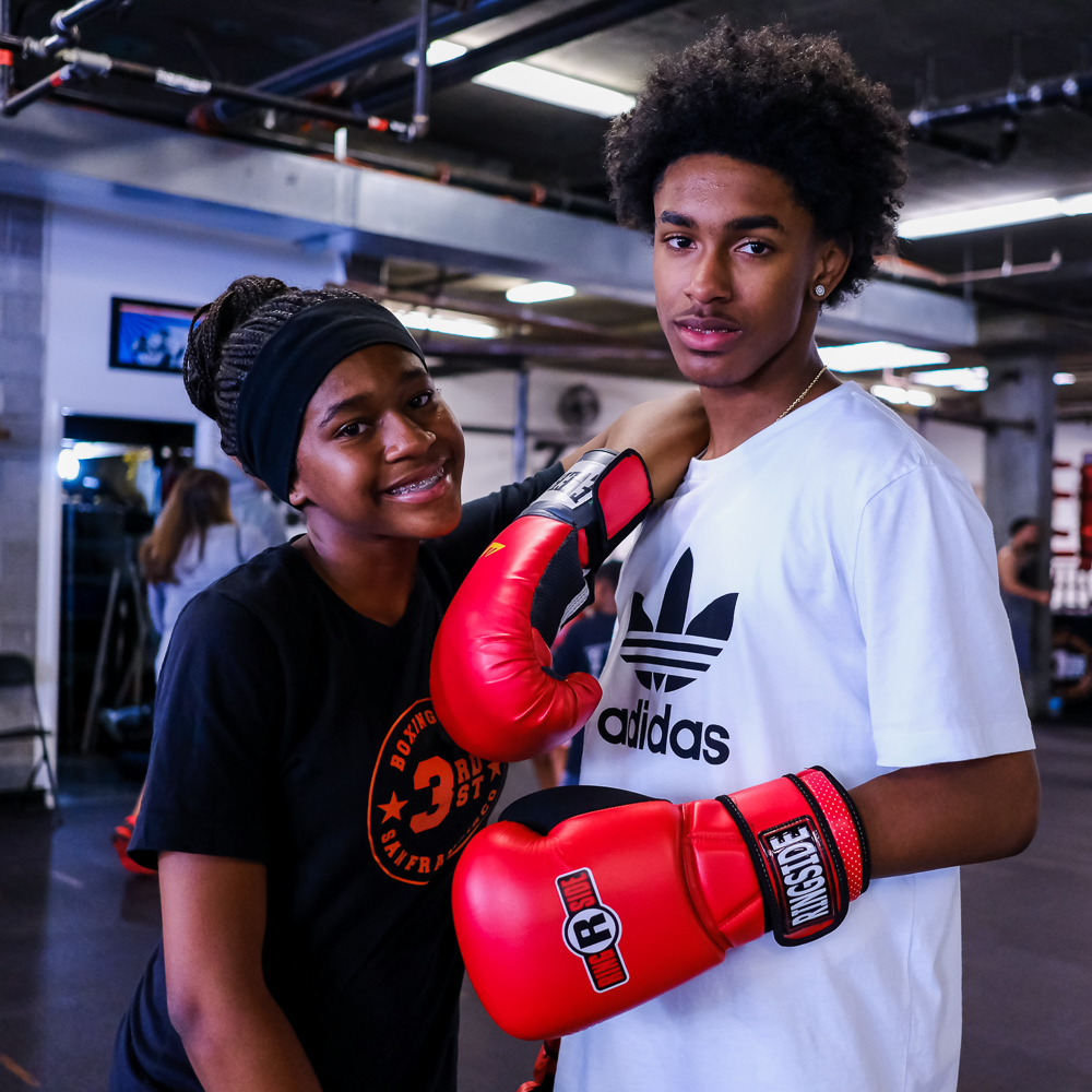 Ages 7-14 only     Gym access    (no cardio machines or treadmills)!    Unlimited    Youth Boxing classes   !