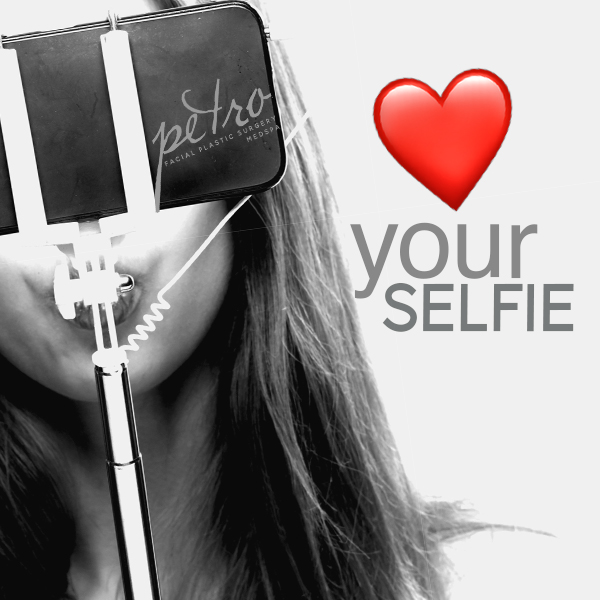 #petro🤳🏻 - Make your selfie SHINE.  From facials, to injectables to fill your 💋s we LOVE selfies!  Dr. Petro is a diamond level injector & is master trained to make you look your very best.