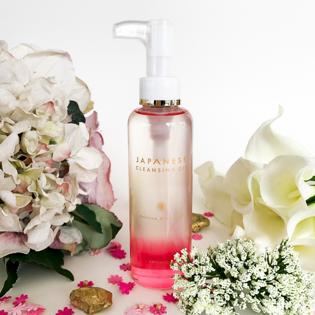 Japanese Cleansing Oil by Sonia Roselli