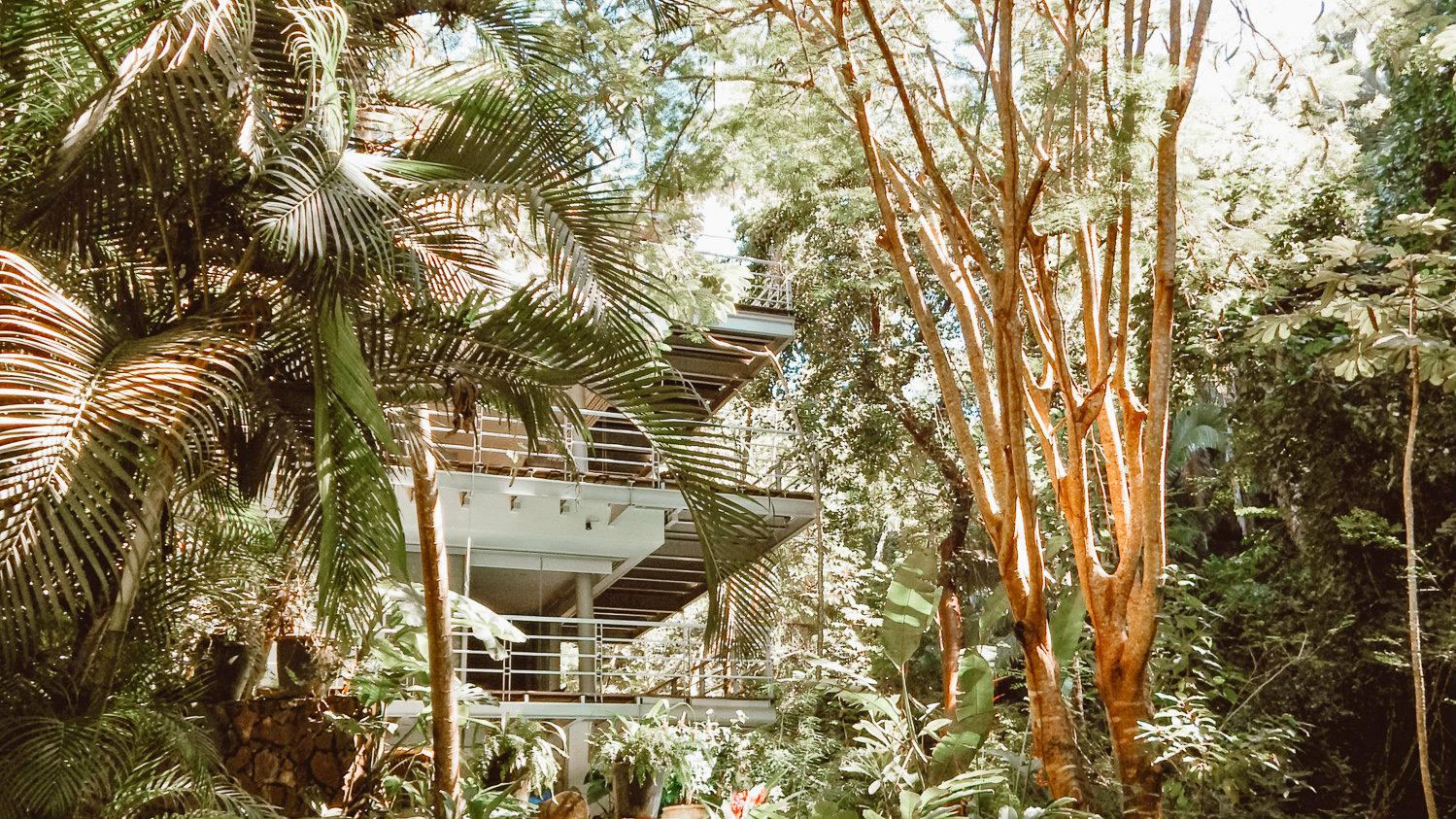 stay in casual luxury - open-living jungle villas