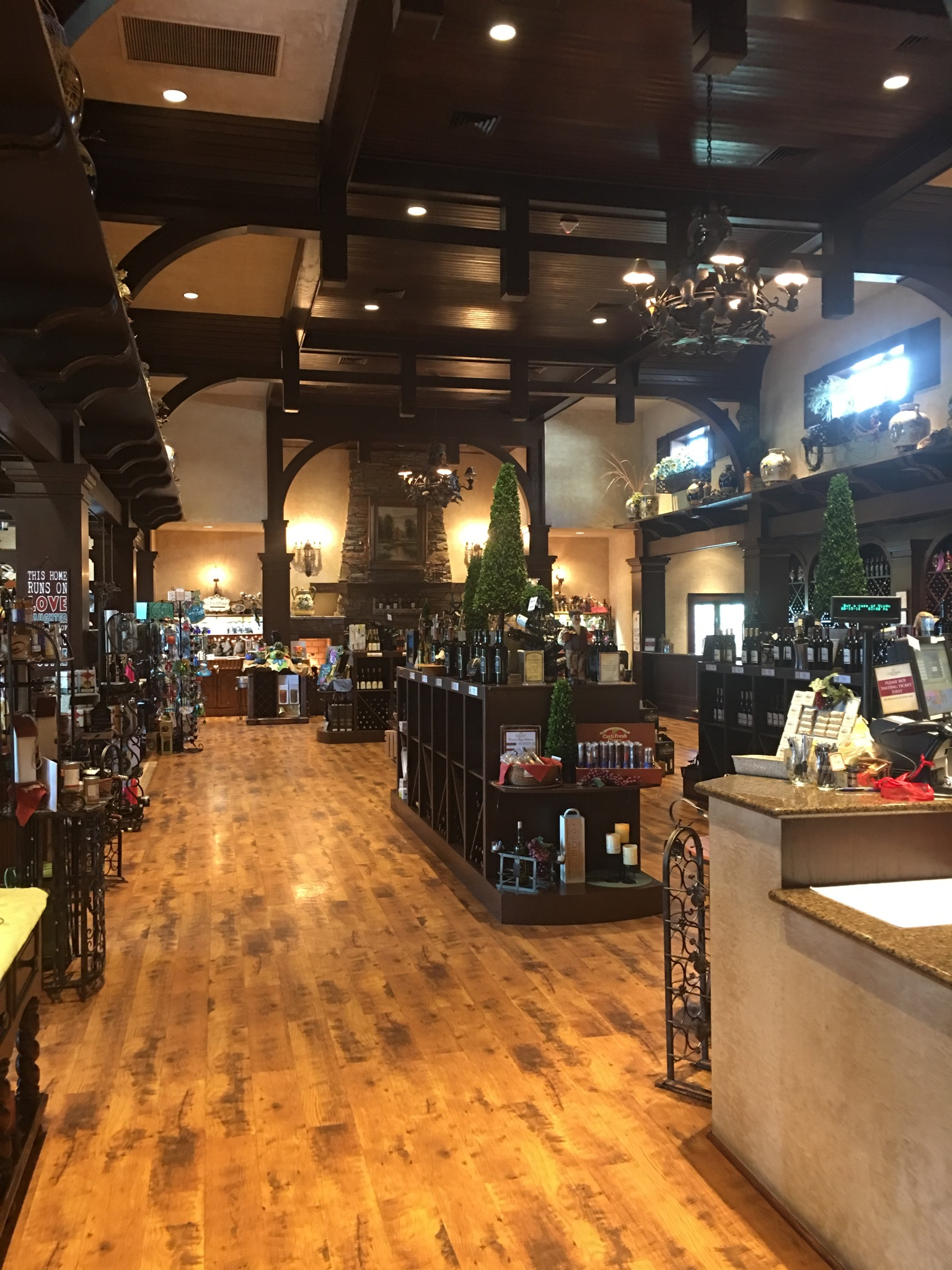 Tastings and show room