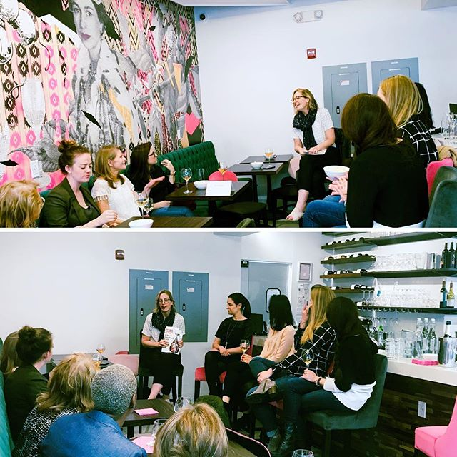 Scenes from last night: another great gathering at our #HBRLadiesNight! Thank you to all the women who joined us and thanks again to our wonderful hosts @theministrydc. We couldn't have asked for a better discussion or better prosecco, popcorn, and pan de queso! #fringepd #alwaysbelearning #communicatebetter