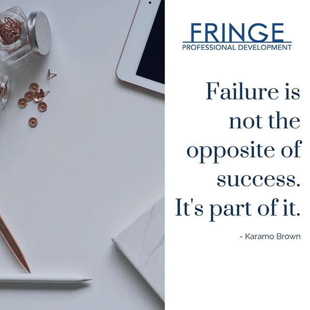 Thank you, @karamo for this reminder today! We love having a day to reset and create a clean slate to reflect on both successes and failures. Both are a part of moving forward and making progress 🙌 #communicatebetter #fringepd #alwaysbelearning