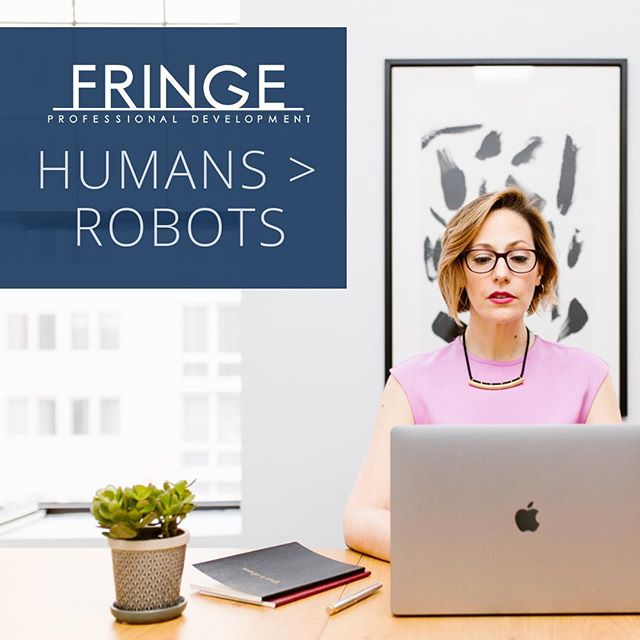NEW ON THE BLOG! Our human capacity for multilayered emotional conflict lets us go beyond the binary sets of ones and zeros that robots rely on exclusively. It's our competitive advantage over the AI technology vying for our jobs. Find out how to harness this power of conflict without facing the emotional anxiety that can come with it by clicking over to the latest on the Fringe PD blog! #linkinbio #fringepd #communicatebetter #alwaysbelearning