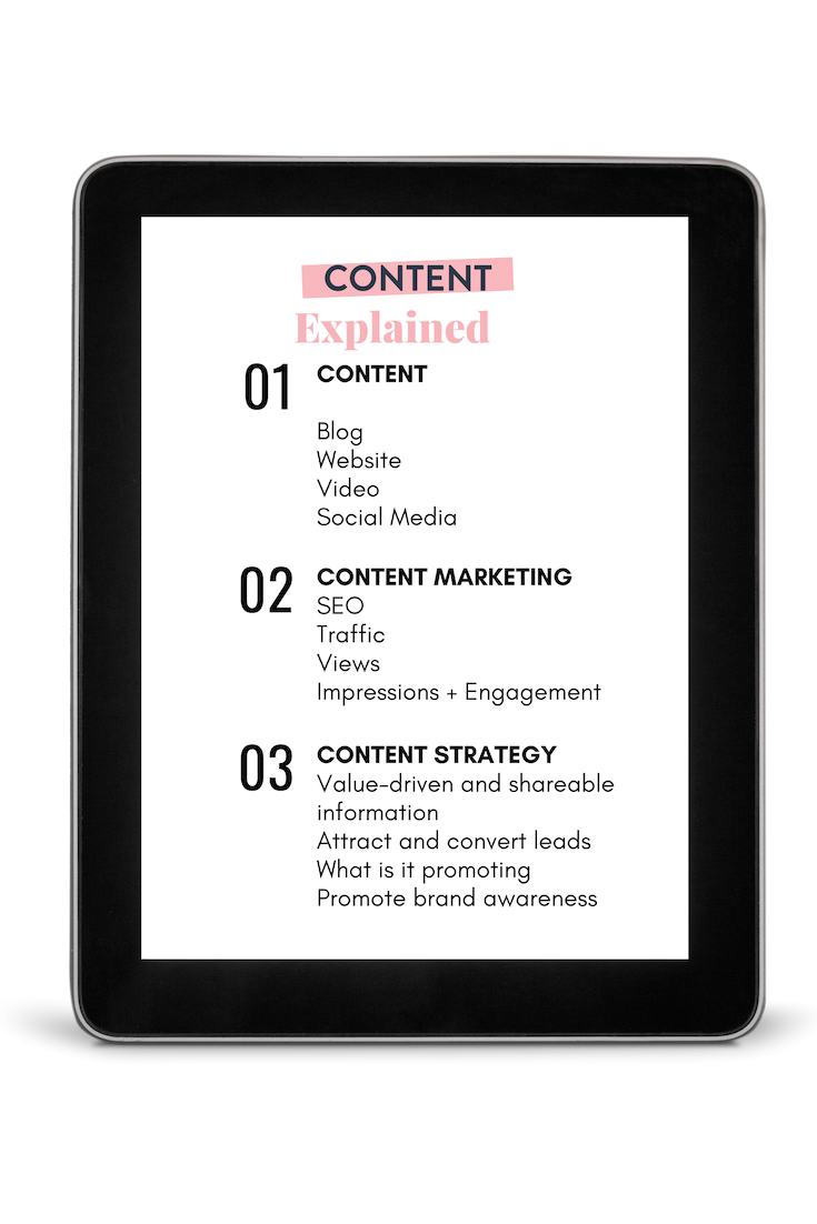 Content Explained content marketing, content strategy, content