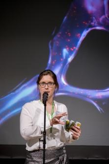 Wellcome Image Award 2017 ceremony.