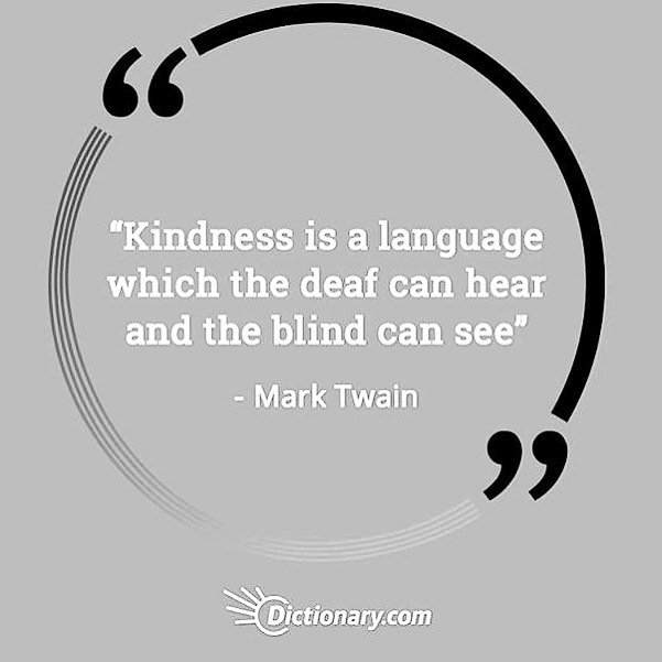 🖤kindness carries🖤 . . . #repost @dictionarycom #marktwain #kindness