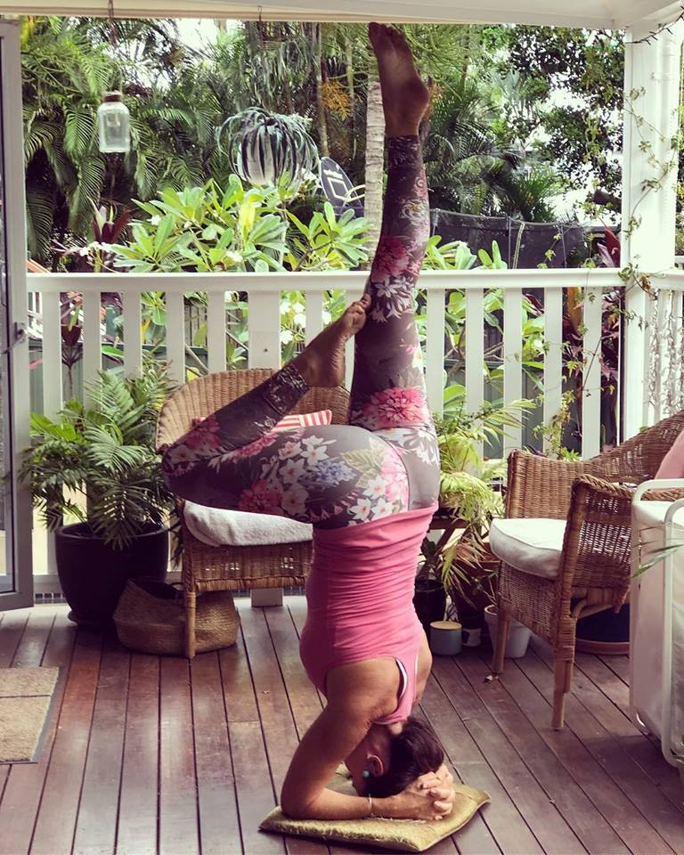 Yoga balances the mind whilst creating strength and flexibility in the body.