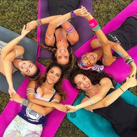 Parties & Events - The Healthy Hen's Party is a thing! Grab your girlfriends, family members or colleagues and make a party out of your practice. Dress up, play your fave tunes and bond on your mats. From only $10pp, get in contact to advise of your ideas and requirements. Having connection & fun is integral to a happy life, let us create something special for you to celebrate and connect.