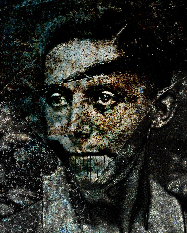 Joseph (It's all over)  2016 archival pigment print 100H x 80W cm / 39 ¼ x 31 ½ in