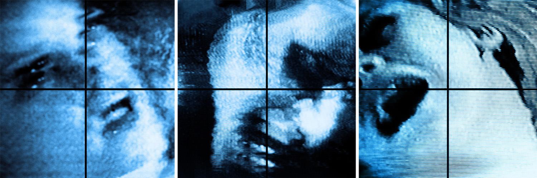 Porneia, as triptych  2007 Chromogenic prints Each print 91.4 H x 91.4 W cm / 36 x 36 in