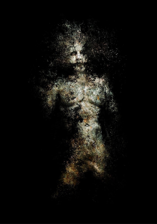 self-portrait, (season of mists, no. 2)  2015 Archival pigment print 100 H x 70 W cm / 39 ¼ x 27 ½ in