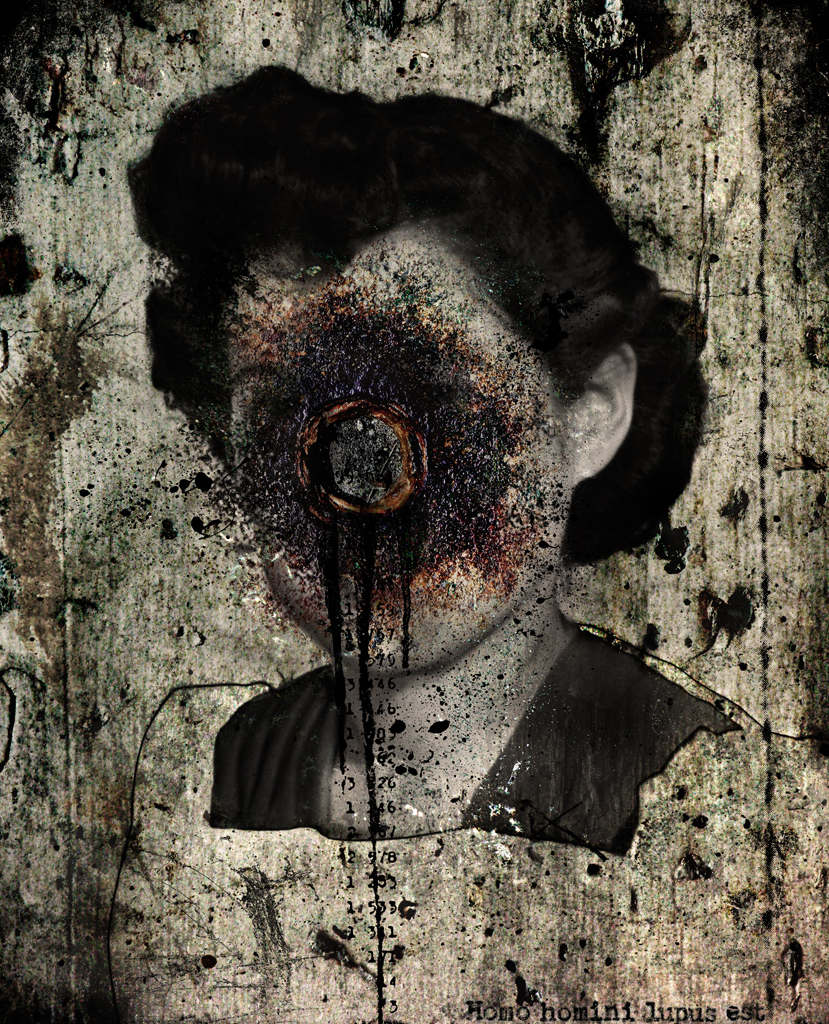 Frances (homo homini lupus est) , from the  Frances  series Frank Rodick, 2012