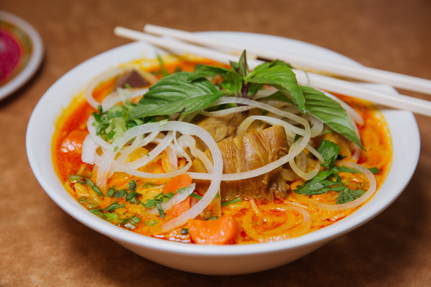 Curry Chicken Pho
