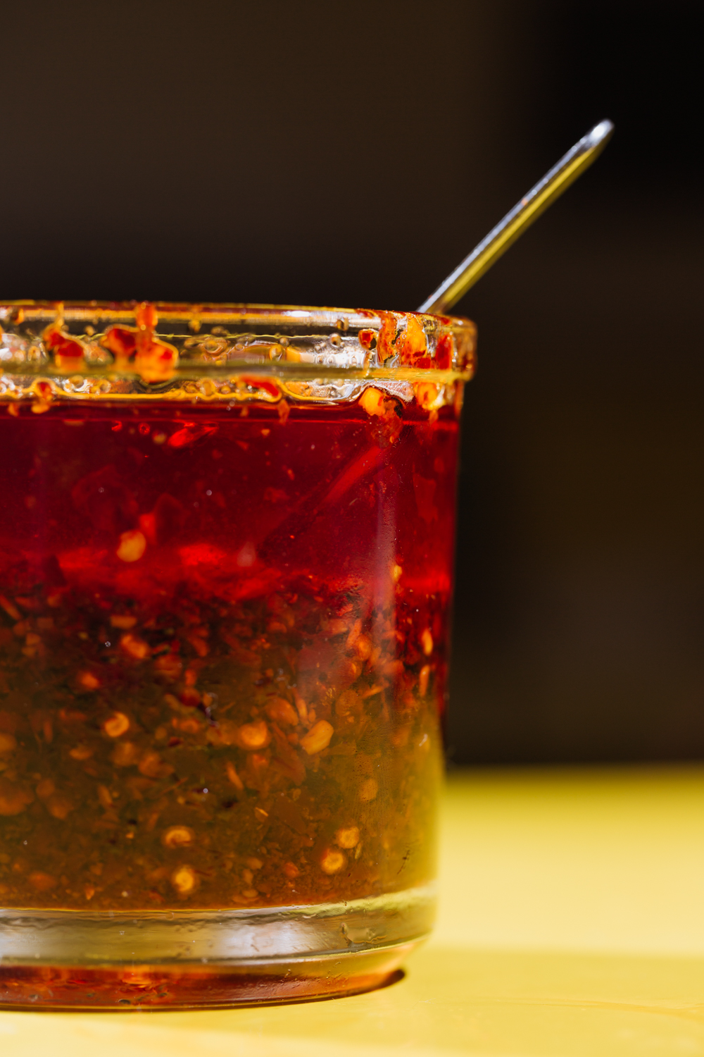 House-made hot chili sauce can be purchased (just ask)