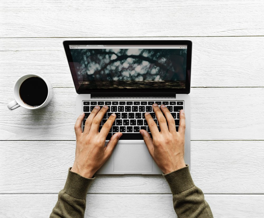 We recommend clearing your calendar, and your mind, before sitting down to write your website content. Find a distraction free, calming environment so that there is nothing to prevent all of your thoughts from surfacing to the top of your mind.