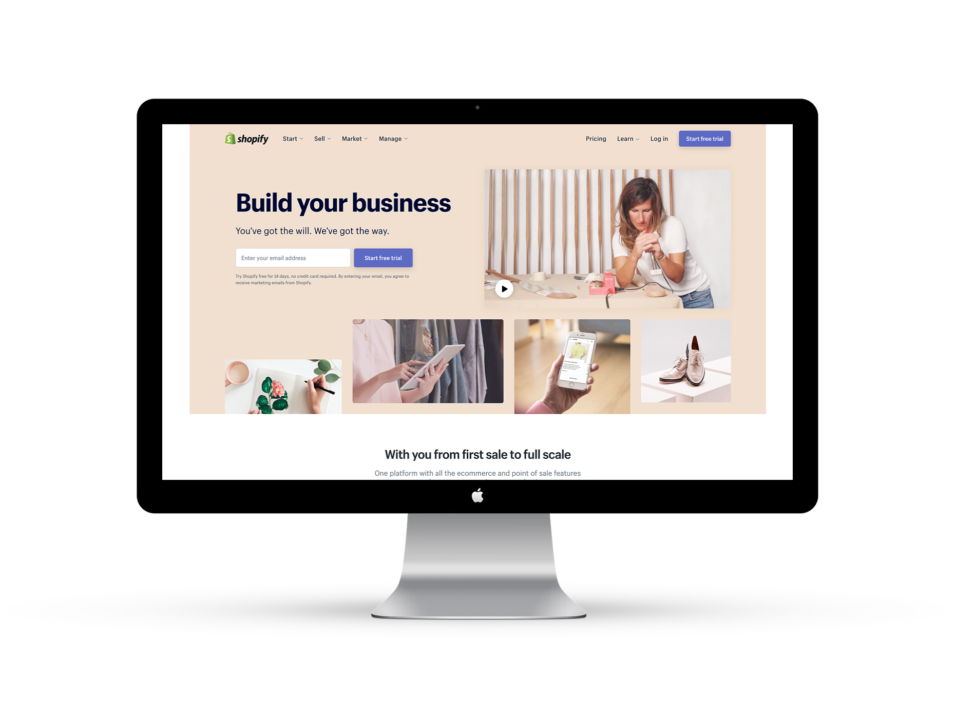 Shopify Web Design - Killer e-commerce functionality with room to grow.
