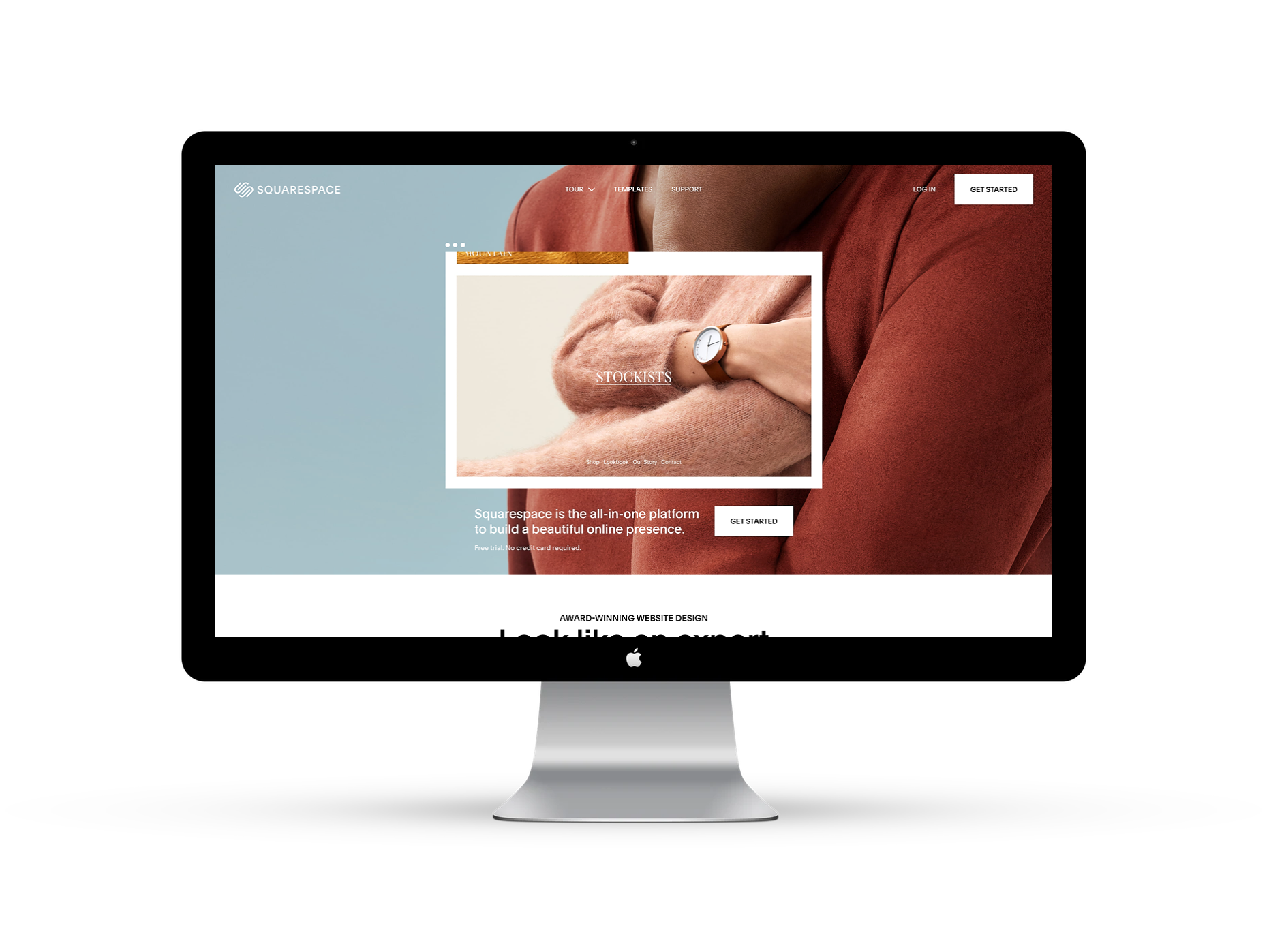 Squarespace Web Design - A beautiful home for simple shops.