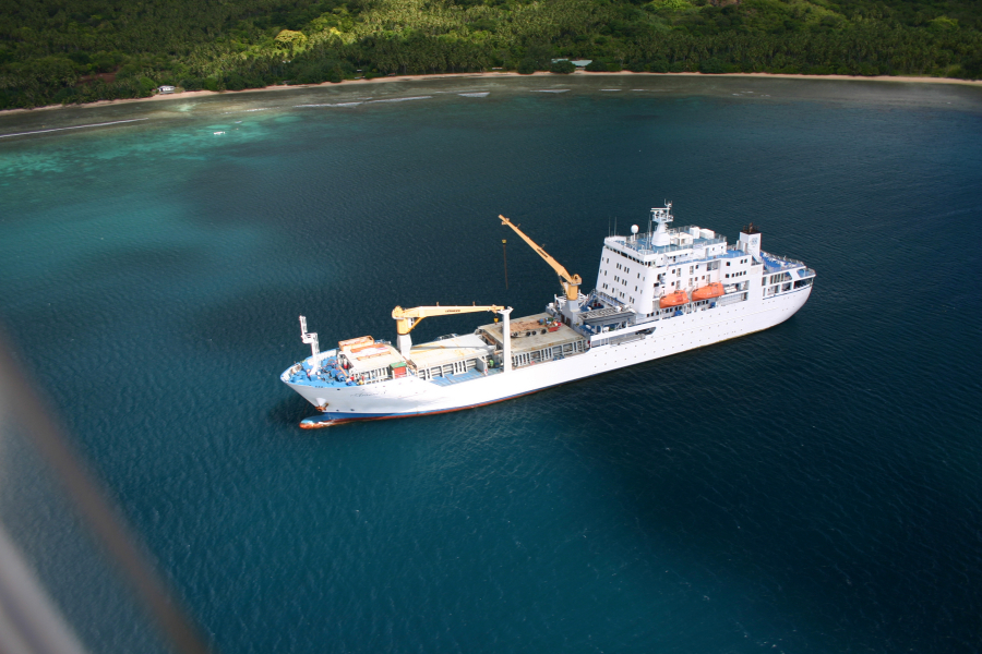 A voyage aboard Aranui 3 lasts 14 days with an itinerary that includes the Tuamotu and Marquesas archipelagoes. Copyrights: J. Benhamza