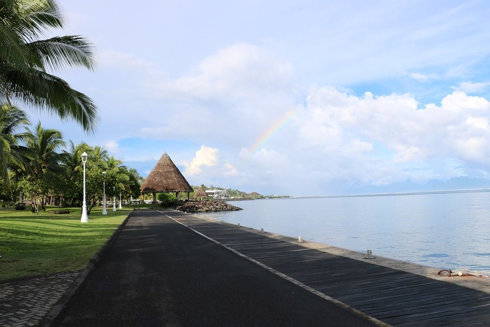 Mahana Lodge in Tahiti