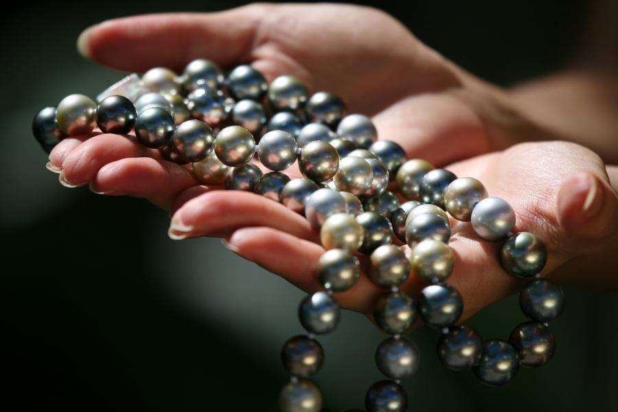 Black pearls of Tahiti